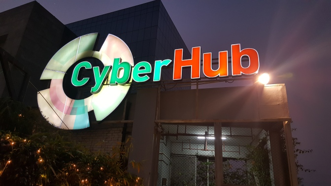 Cyber Hub Gurgaon: A Walk-through